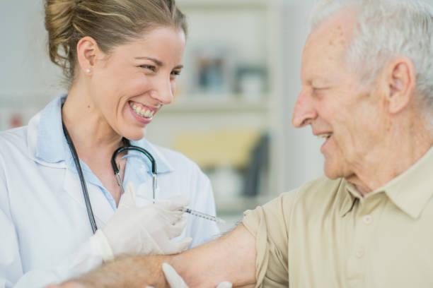 Immunization stock photo