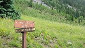 istock Imogene Pass and Yankee Boy Basin Sign 176097175