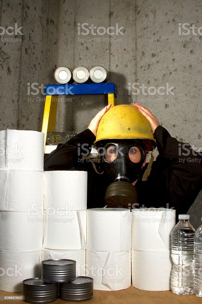 Impending Doom stock photo