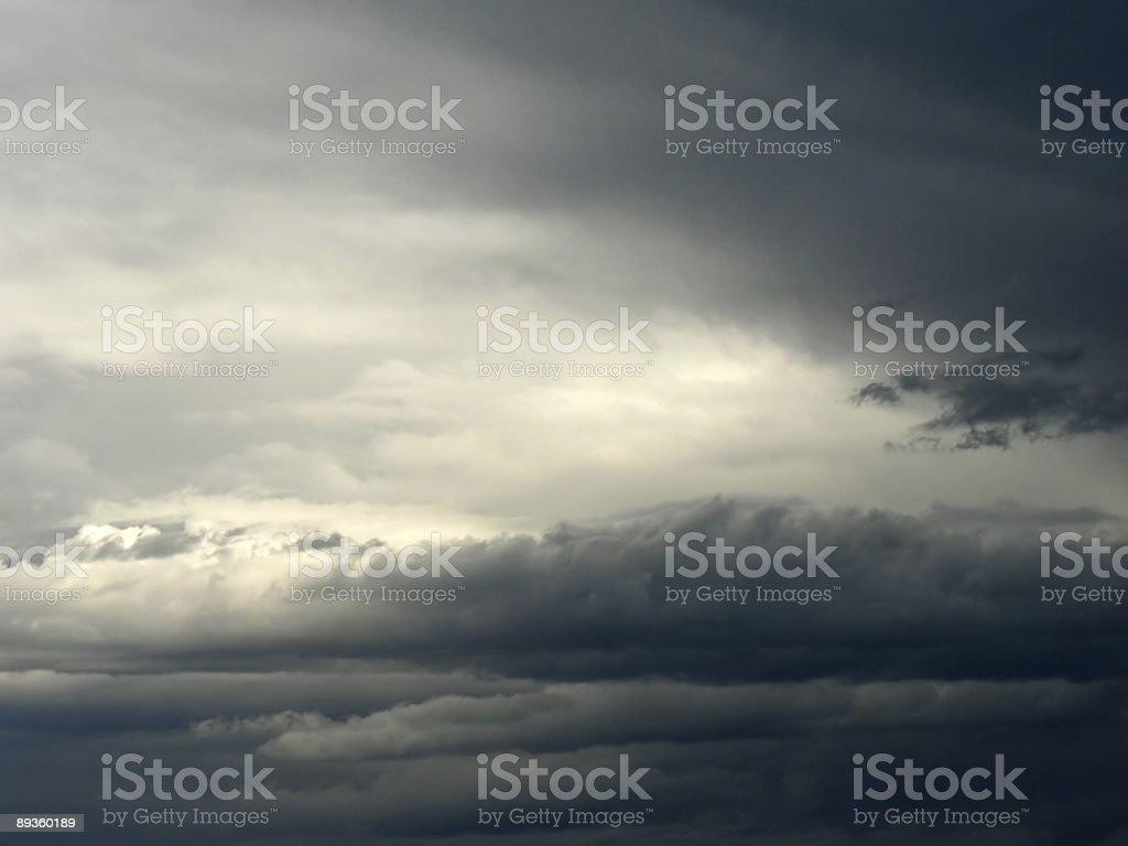 Impending Storm stock photo