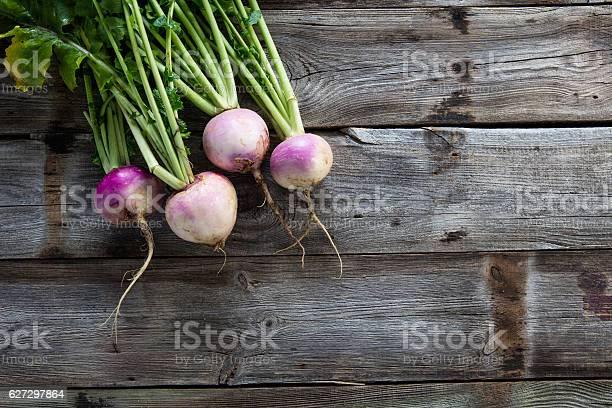 Imperfect organic turnips fresh green tops on authentic wood picture id627297864?b=1&k=6&m=627297864&s=612x612&h=izz7mpzvsygnr6cvq9aev03vip 2efzktx6e10b1gyi=