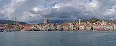 istock Imperia Oneglia coastal city, Italian Riviera 1293180119