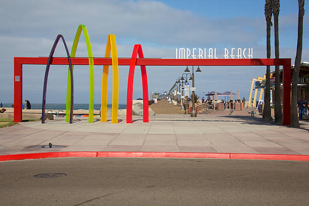 Imperial Beach California stock photo