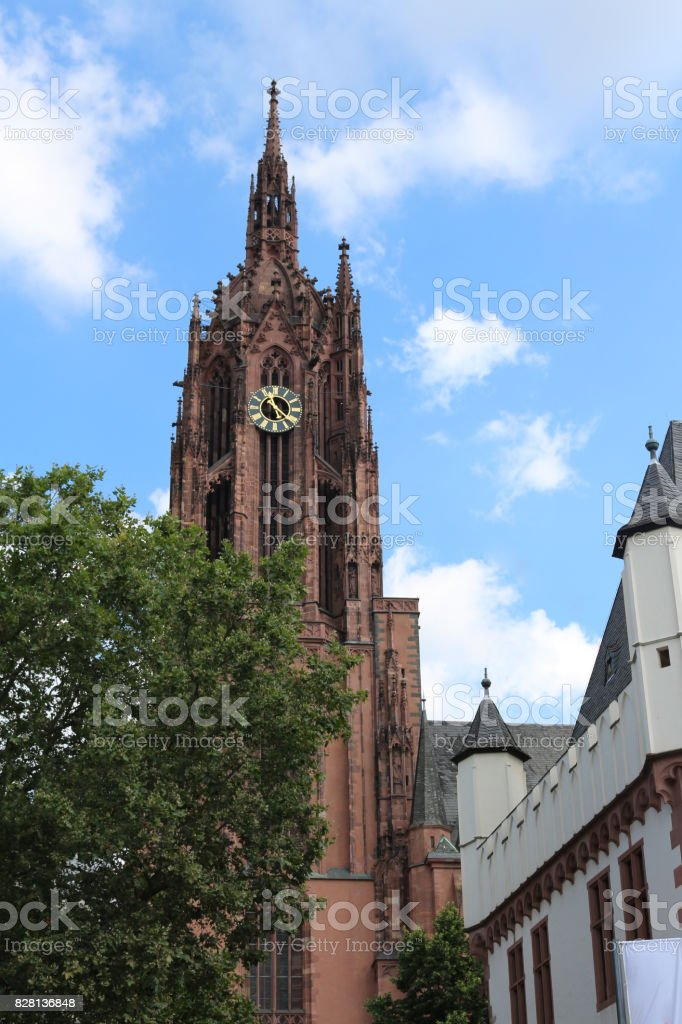 Imperial Cathedral of St. Bartholomew stock photo