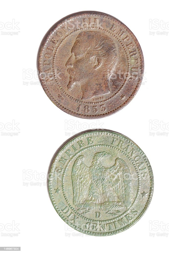 imperial coin stock photo