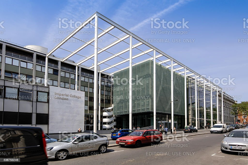 Imperial College, London stock photo