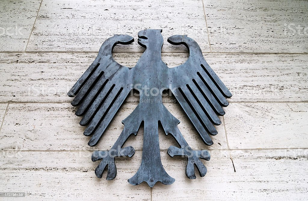 imperial eagle, berlin royalty-free stock photo