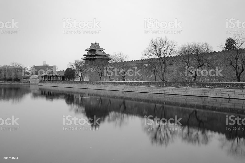 Imperial Palace Corner Tower royalty-free stock photo