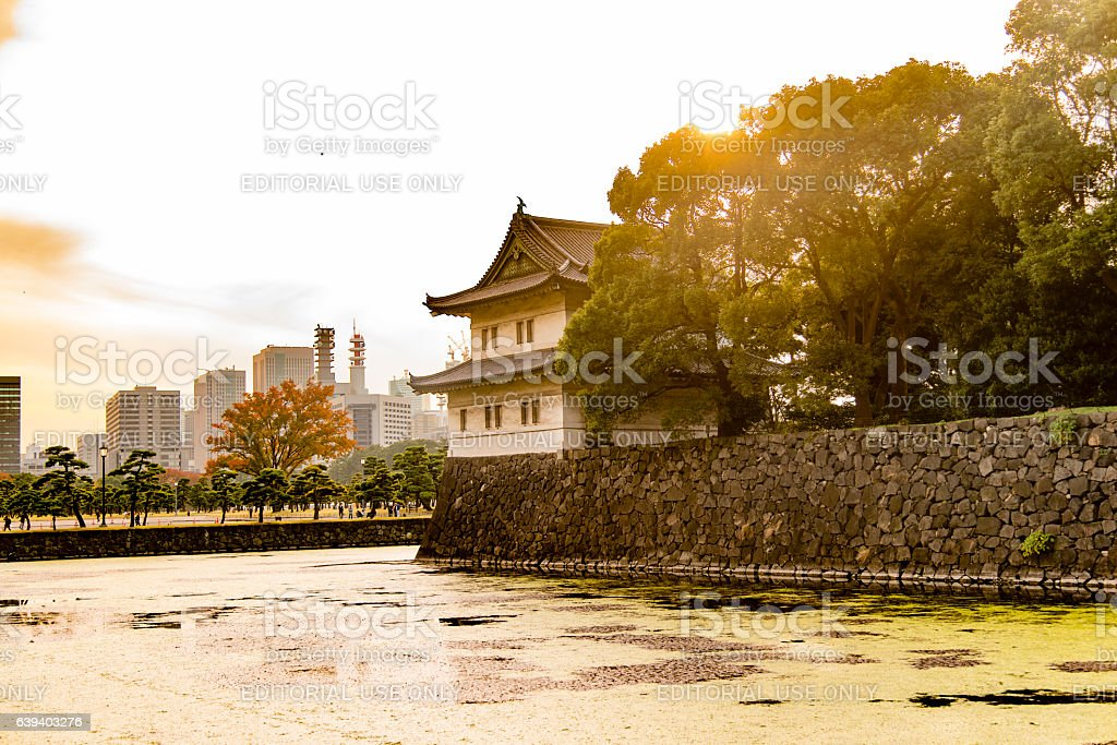 Imperial Palace, Tokyo stock photo