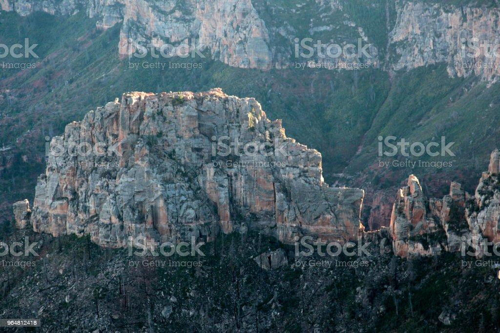 Imperial Point, Grand Canyon National Park - North Rim,  Arizona, USA royalty-free stock photo