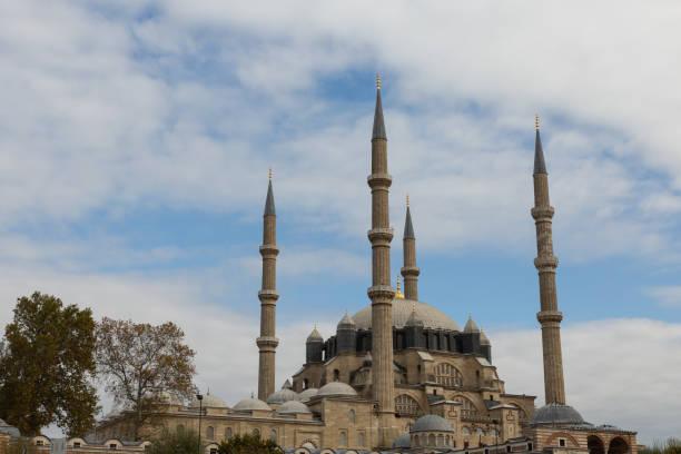 imperial selimiye moschee - selimiye moschee stock-fotos und bilder