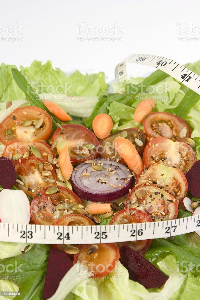 Imperial tomato salad royalty-free stock photo