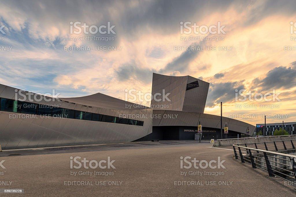 Museu da guerra imperial ao norte, Manchester foto royalty-free