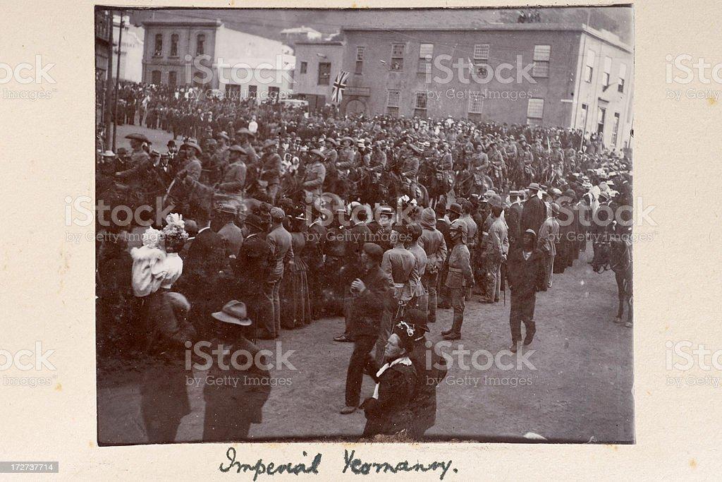 Imperial Yeomanry stock photo