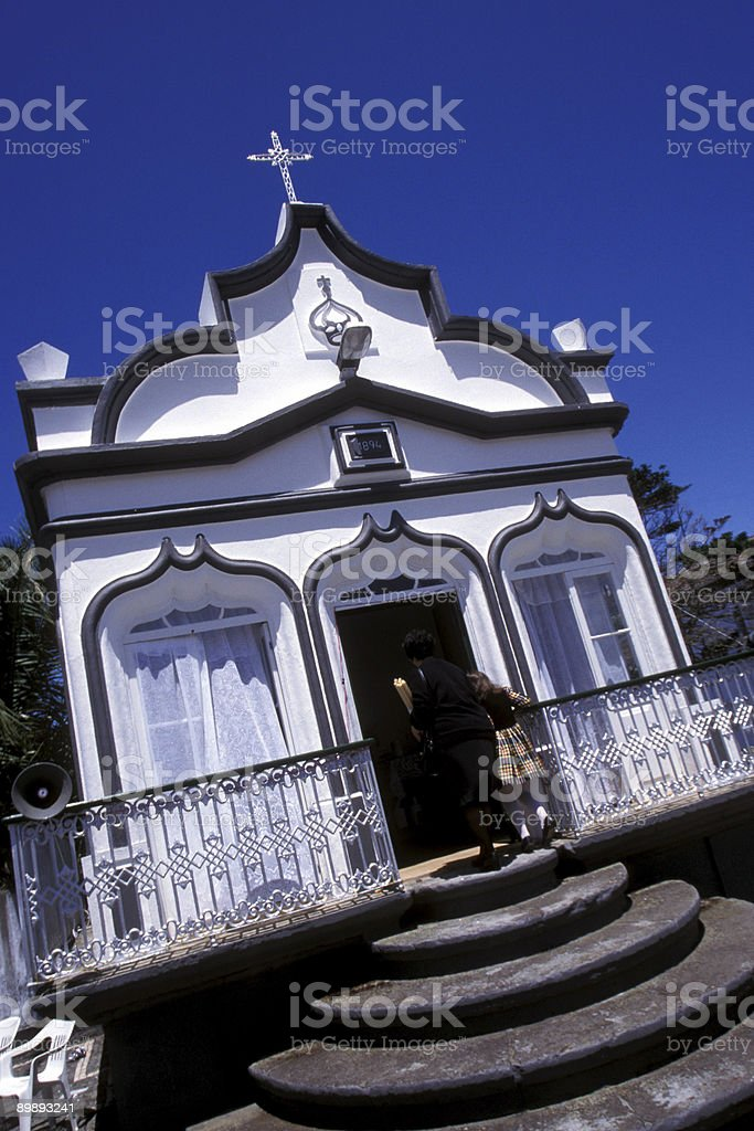 Imperio in the Azores royalty-free stock photo