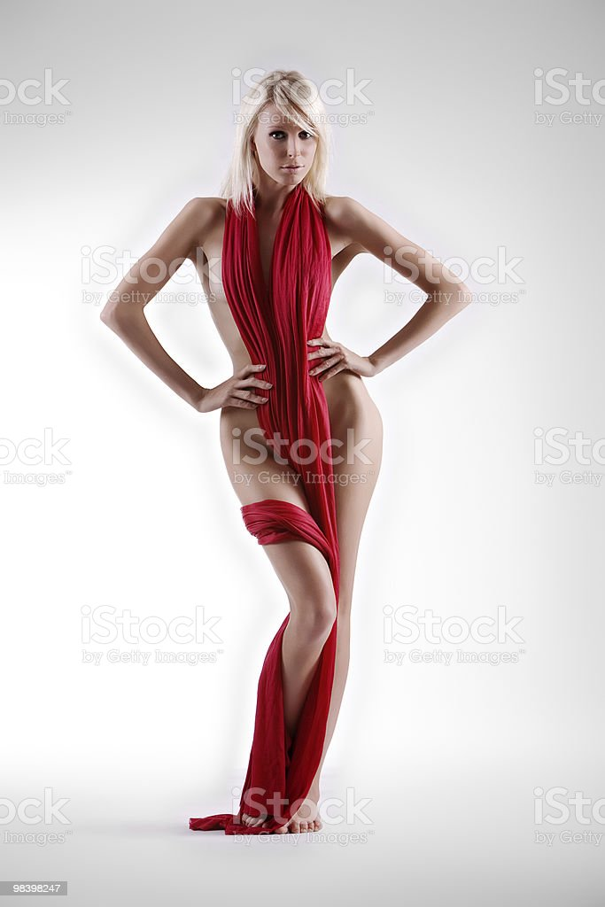 Implied nude royalty-free stock photo