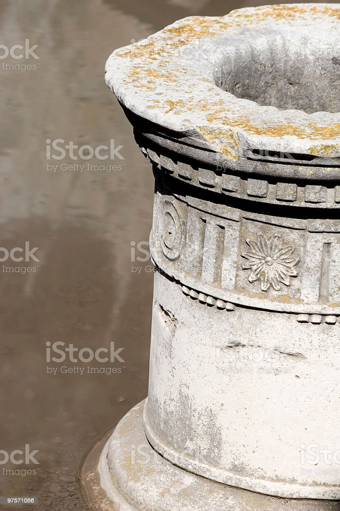 Impluvium Colonne photo libre de droits