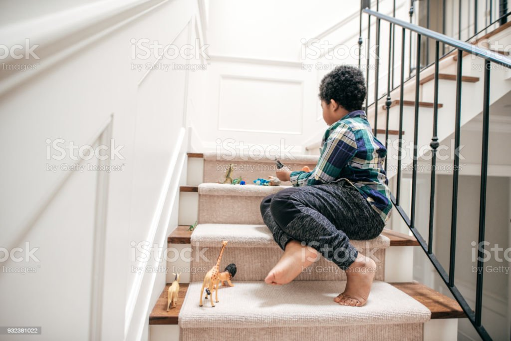 Importance of real play stock photo