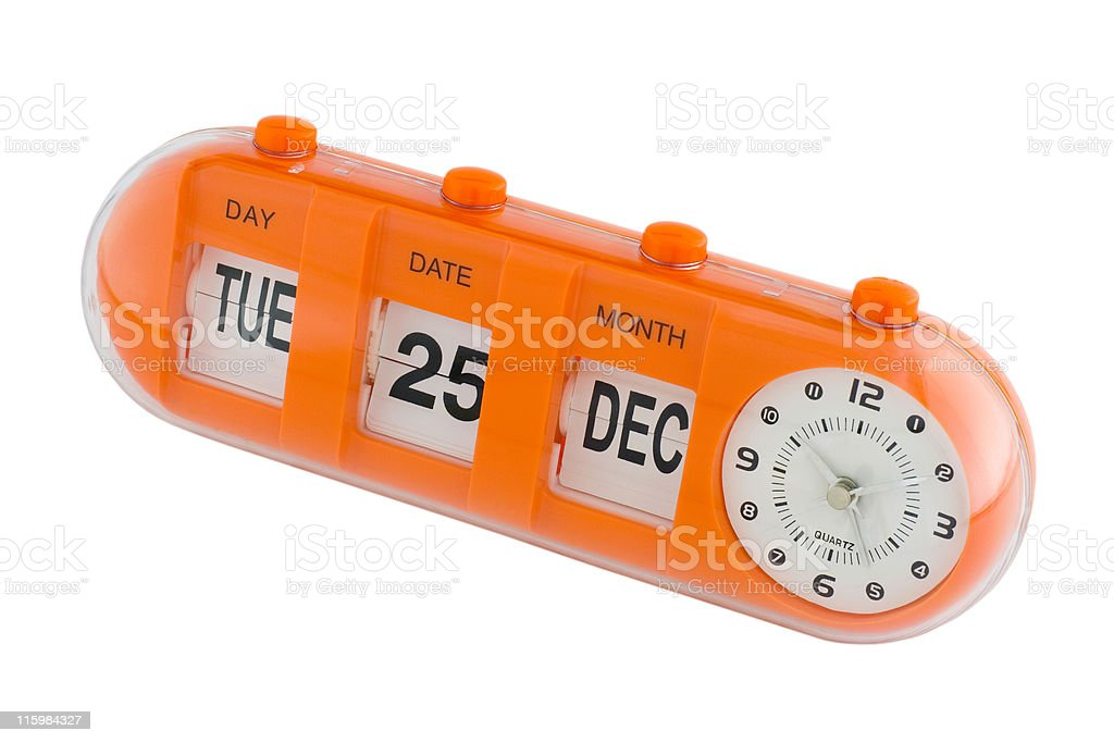 Important date -Christmas Day stock photo