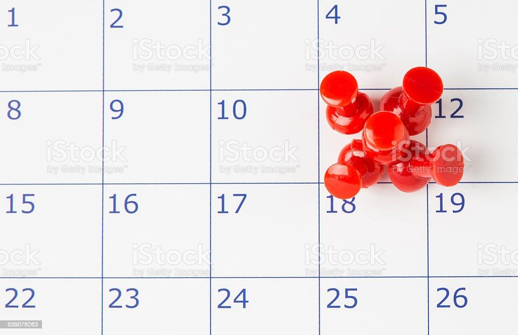 Próxima data importante ou conceito de dia - foto de acervo