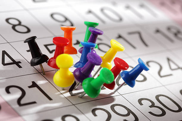 Important date Important date or concept for busy day being overworked full stock pictures, royalty-free photos & images