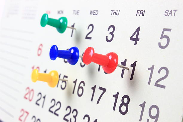 important date - calendar date stock photos and pictures