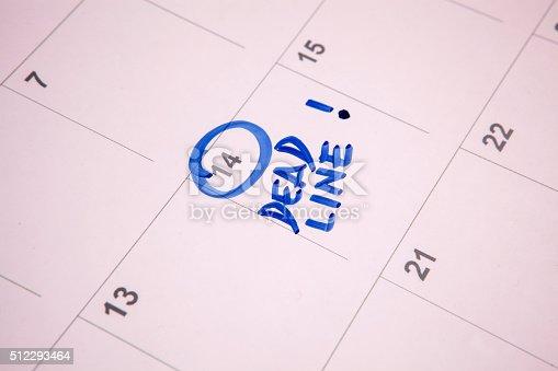 istock Important date 512293464