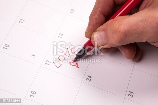 istock Important date 512341844