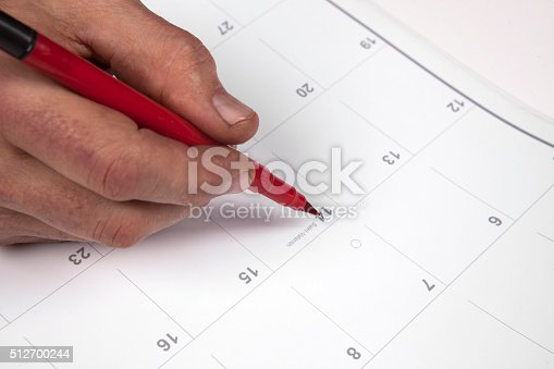 istock Important date 512700244
