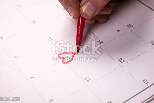 istock Important date 512754340