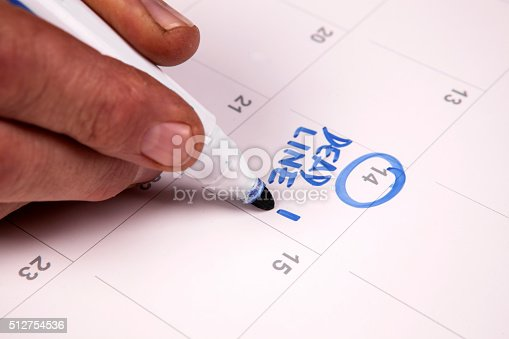 istock Important date 512754536