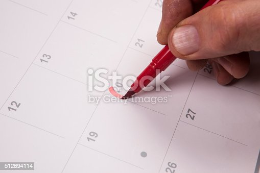istock Important date 512894114