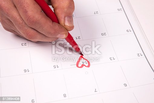 istock Important date 512894408