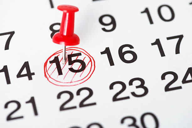 important day - calendar date stock photos and pictures