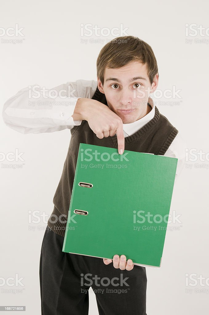 important documents royalty-free stock photo