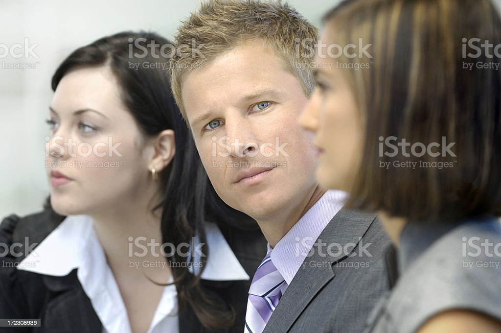 important meeting royalty-free stock photo
