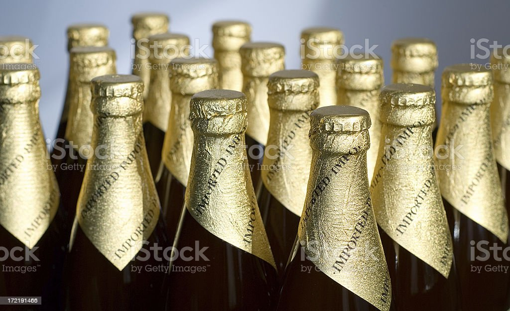 Imported Beer royalty-free stock photo