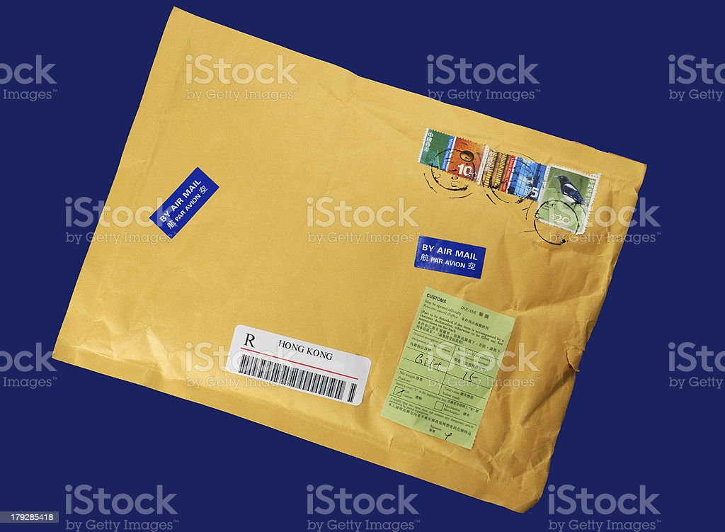 Import-export letter royalty-free stock photo