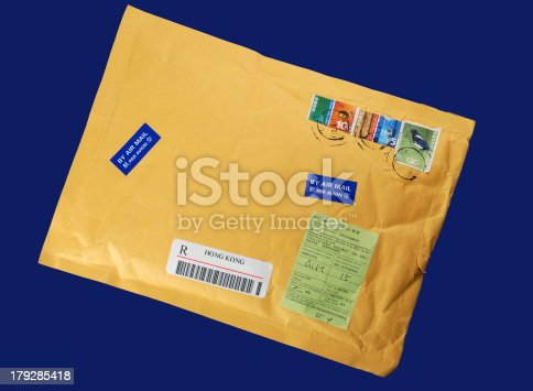 istock Import-export letter 179285418