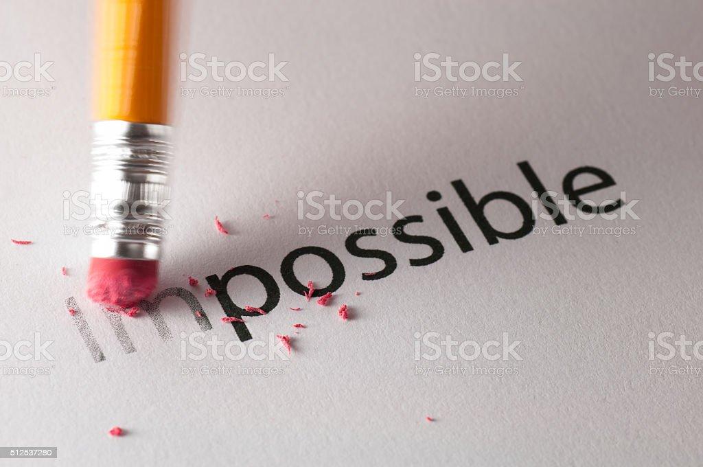 Unmöglich-Konzept – Foto