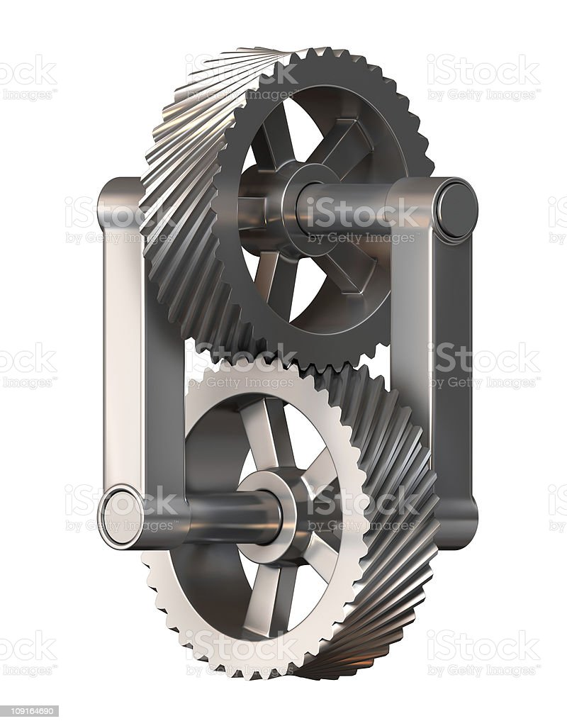 Impossible mechanism royalty-free stock photo
