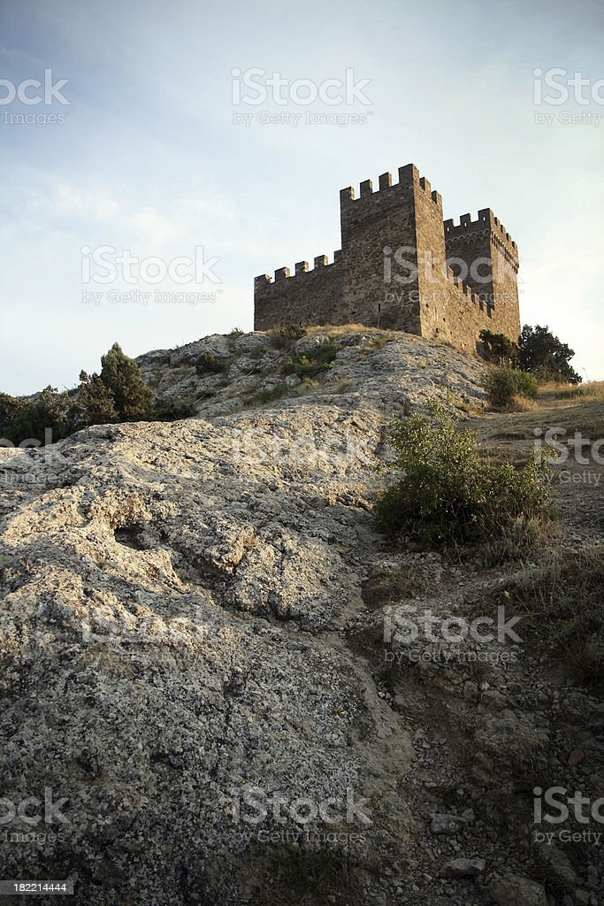 Impregnable fortress royalty-free stock photo