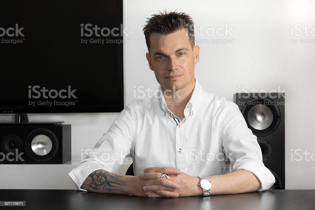 Imprenditore stock photo