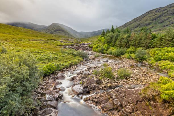 Impression of the Connemara National Park in Ireland stock photo