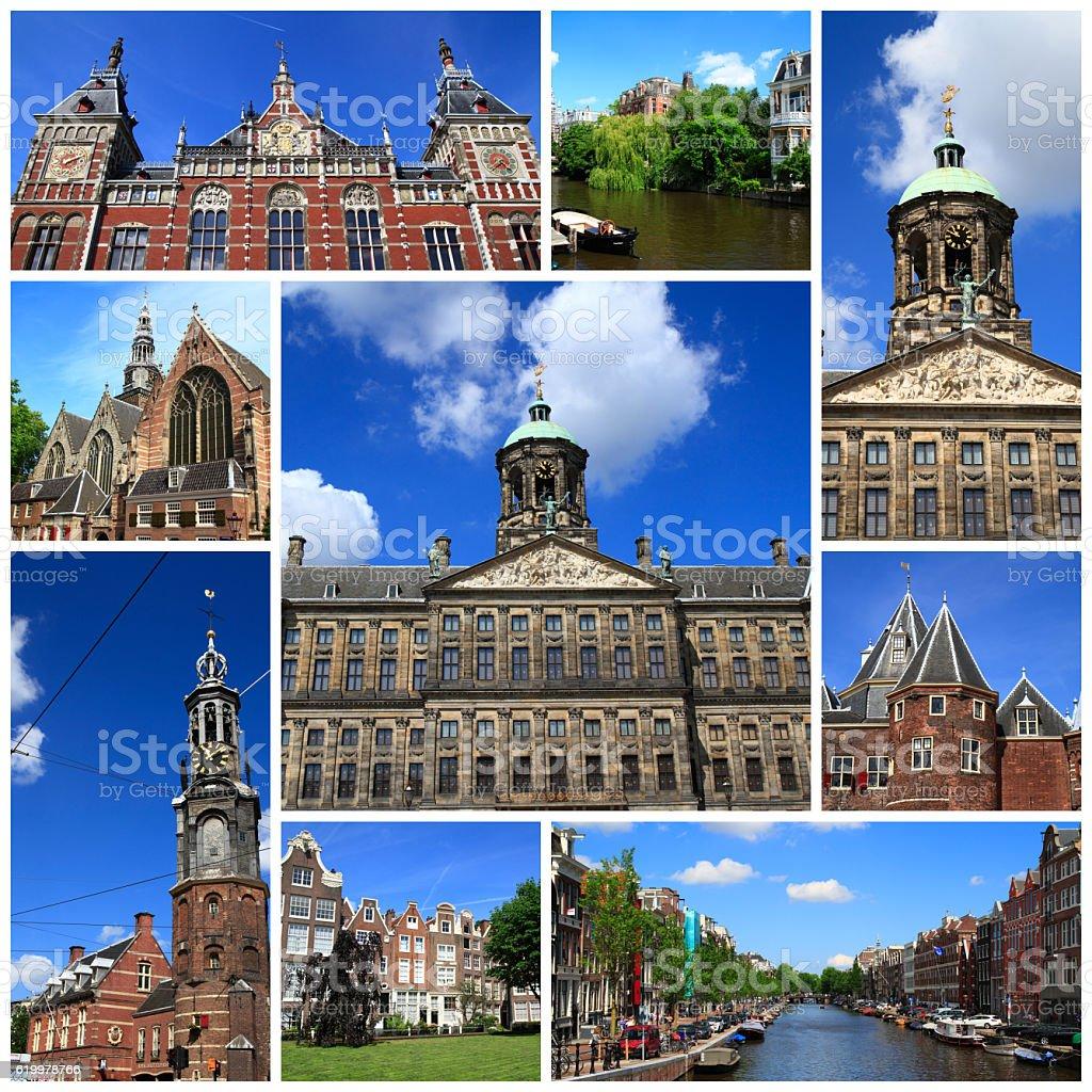 Impressions of Amsterdam stock photo