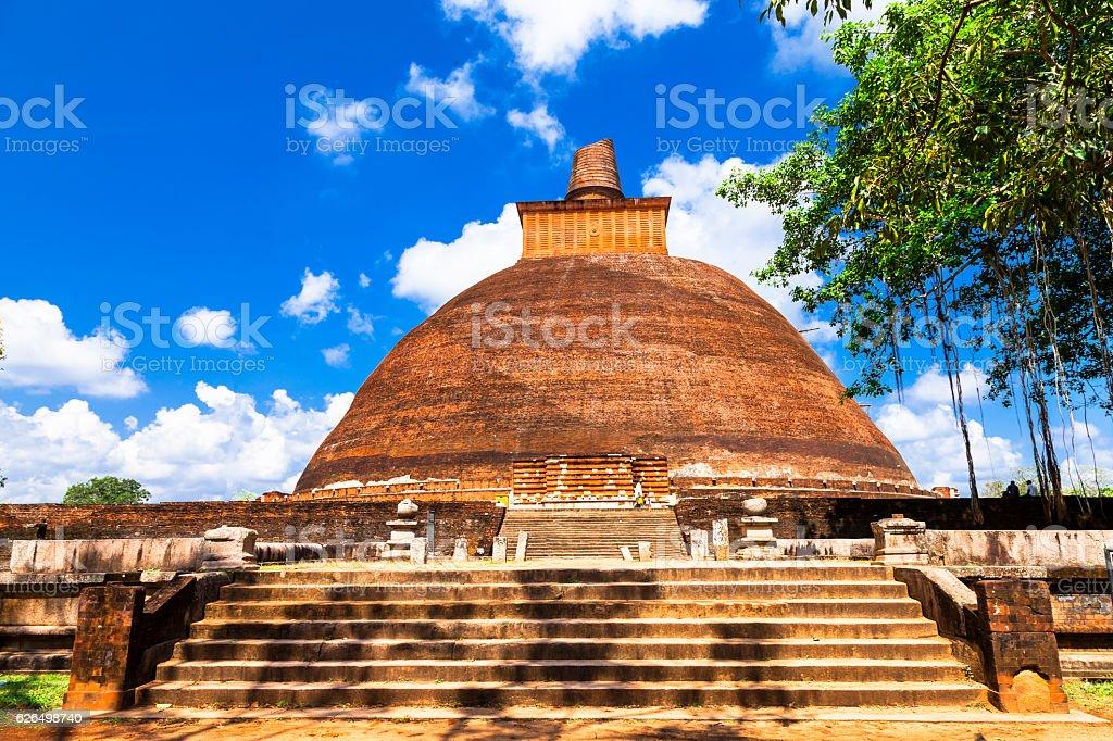 impressive  Temple of Anuradhapura. - Photo