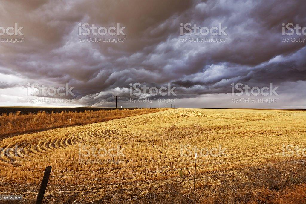 Improbable thundercloud royalty-free stock photo