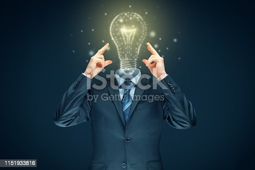 istock Improve creativity, idea and intelligence concepts 1151933816