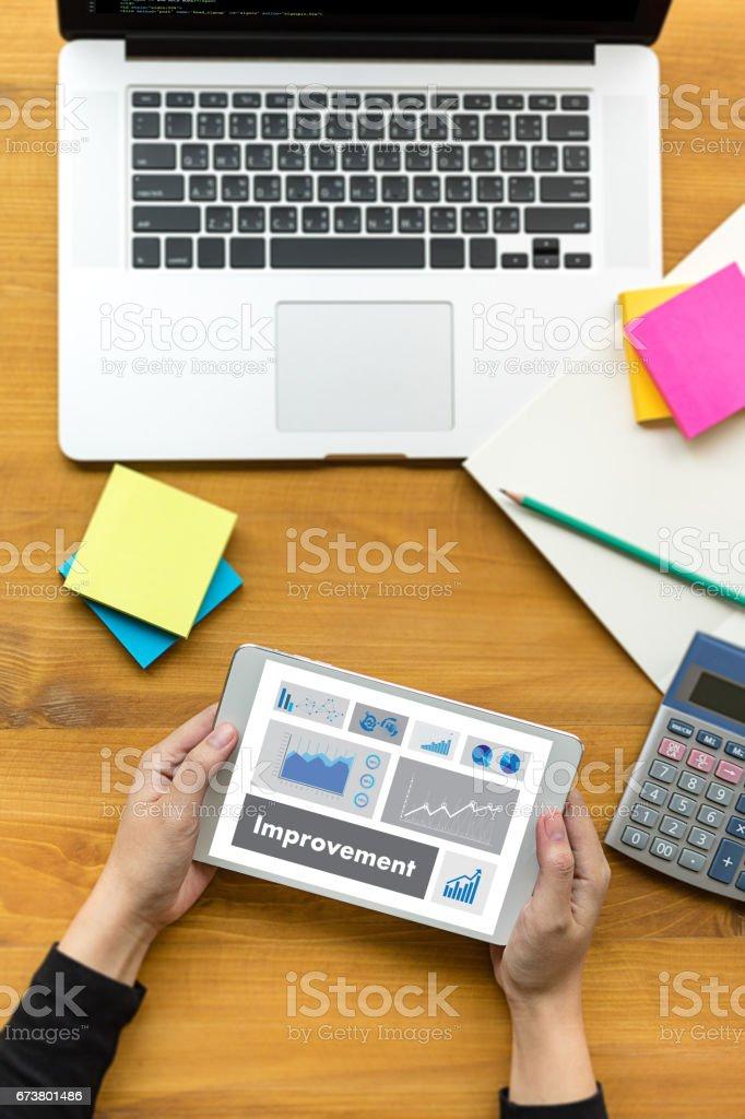 Improvement Form Personnel Details Summary Business Venture photo libre de droits