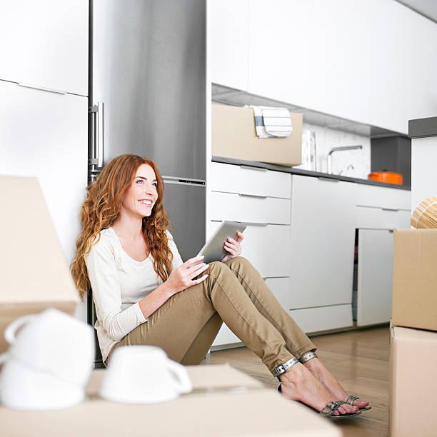 verbesserung der neuen home - küche neu gestalten ideen stock-fotos und bilder